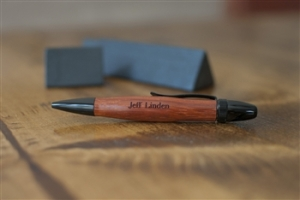 engraved wood pen image