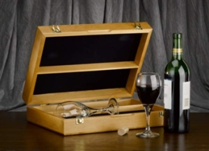 Engraved Wine Ceremony Box