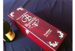 Wine Box Engraved