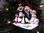 Petey Penguin Ornaments