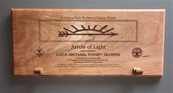 Arrow of Light Award Plaque